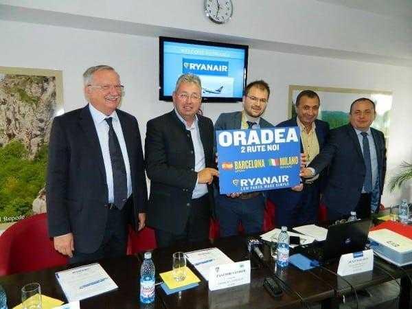 Ryanair Oradea-barcelona