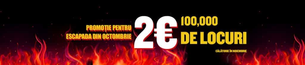 2-euro Ryanair-Promotion October