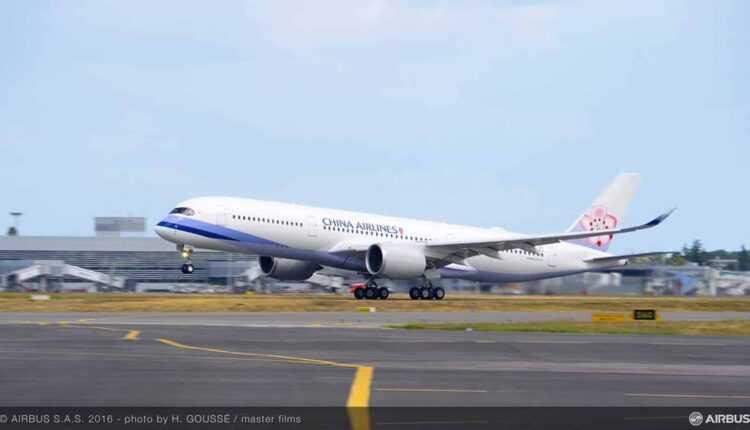 Primul Airbus A350 XWB China Airlines a fost livrat (Foto / Video)