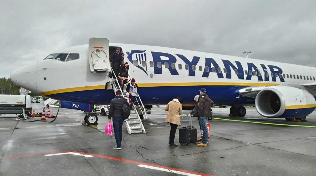 Bukarest-Berlin, Ryanair