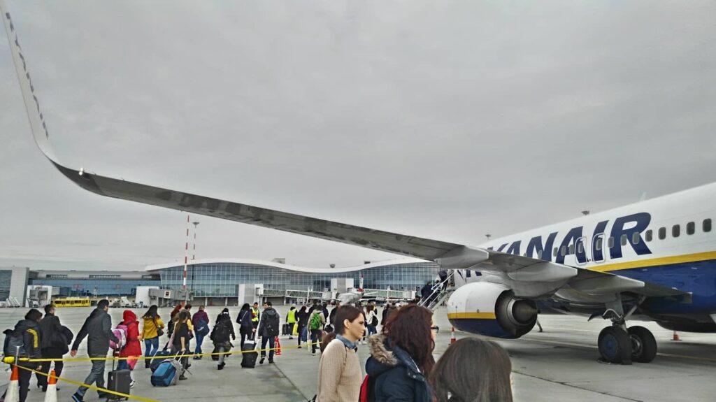 Bukarest-Berlin, Ryanair-2
