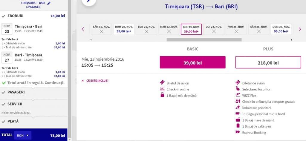 timisoara-bari-wizz-air