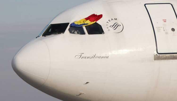 Airbus A310 YR-LCA TAROM la ultimul zbor comercial