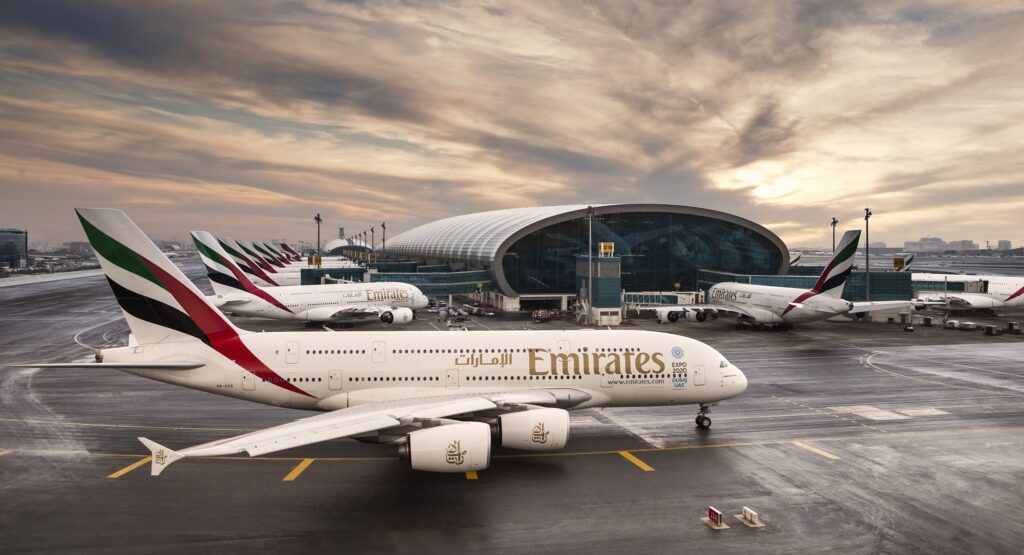 a380-terminal Emirates, Dubai