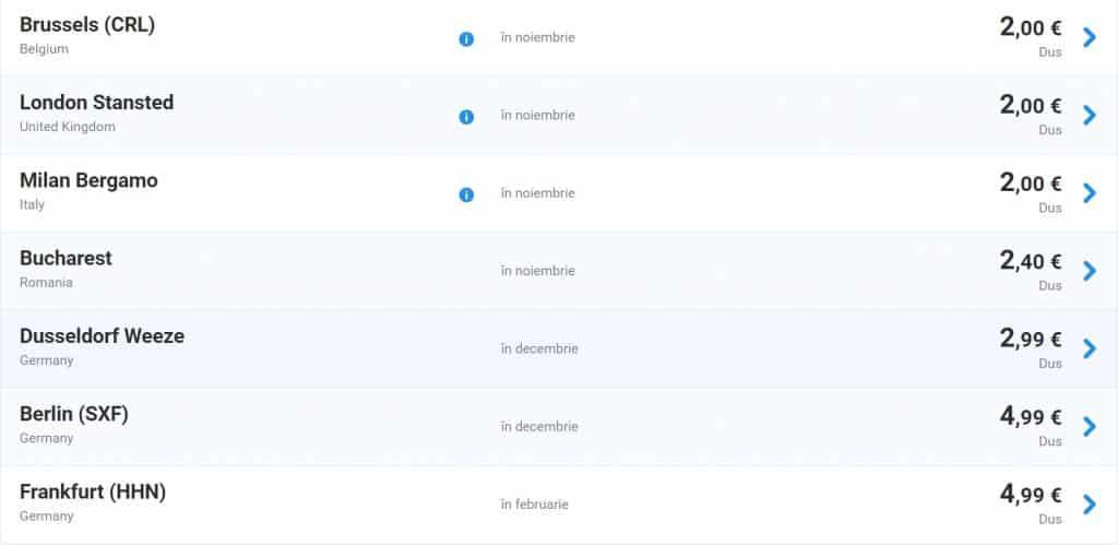 promotie-ryanair-2-euro-segment-timisoara