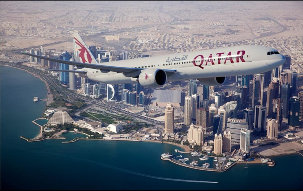 Qatar Airways Boeing-command-planes,