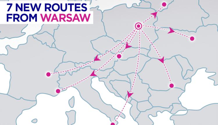 București – Varșovia cu Wizz Air, din 30 iunie 2017