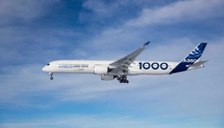 A350-1000 First Flight