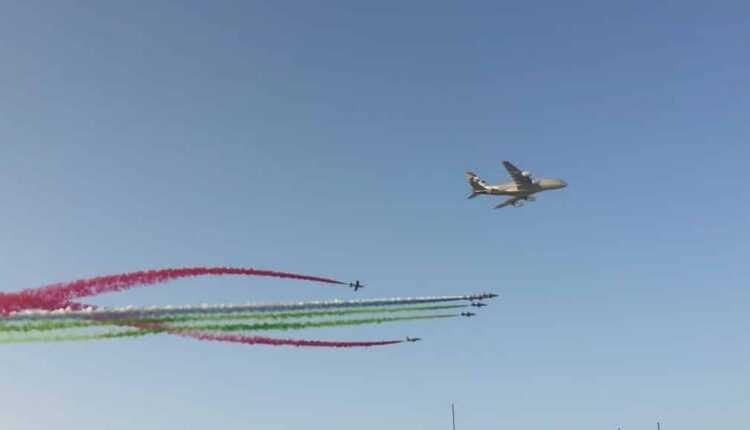 Airbus A380 Etihad Airways la Abu Dhabi Grand Prix