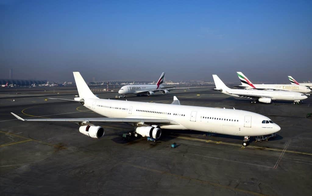 Airbus a340-emirates
