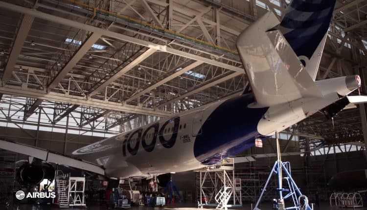 Airbus a350-1000 motors