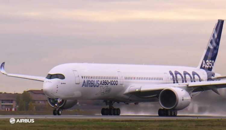 Primul Airbus A350-1000 va decola joi, 24 noiembrie 2016