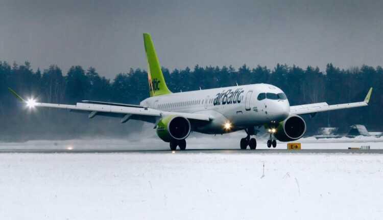 Primul Bombardier CS300 airBaltic a fost livrat