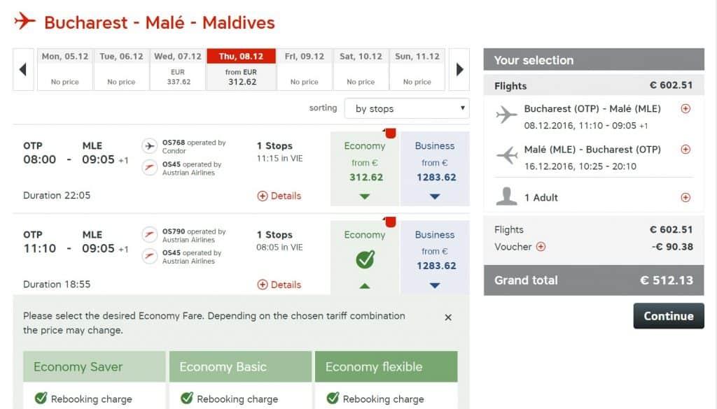 bucuresti-maldive-austrian-airlines