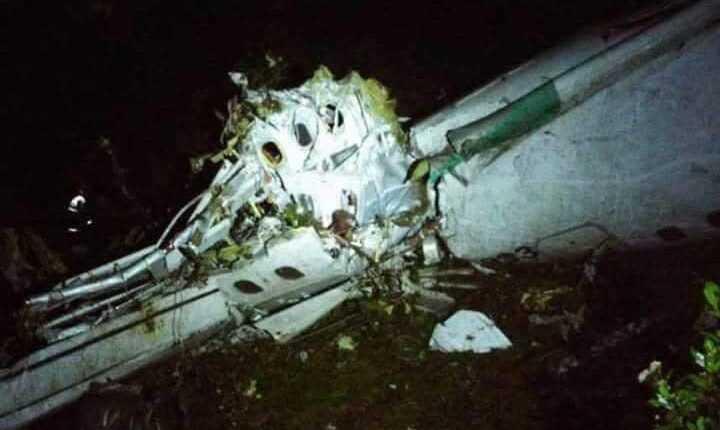 Un avion s-a prăbușit în Columbia (UPDATE)