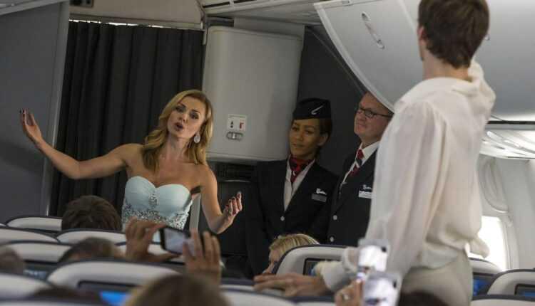 Balet într-un Boeing 787-9 British Airways cu Katherine Jenkins și trupa Bolshoi