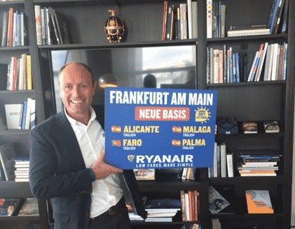 Bază Ryanair la Frankfurt Am Main (FRA) și noile rute