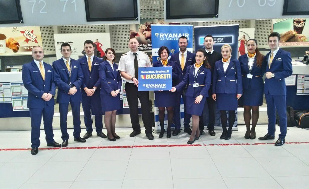açma-baz-Ryanair Bükreş