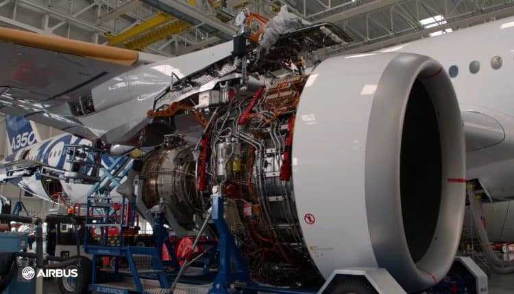 Kurulum motor airbus-a350-1000