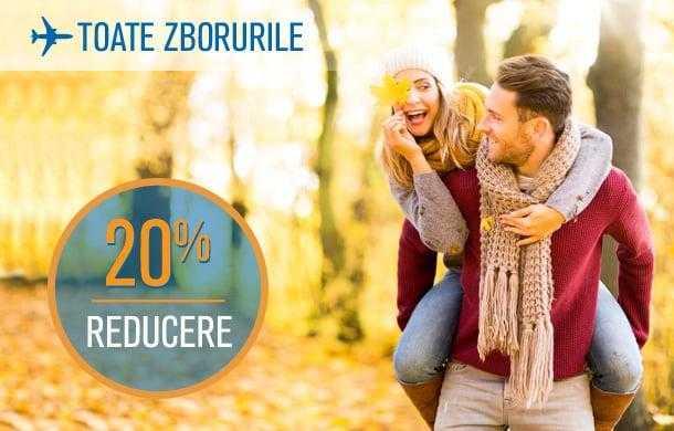 [Oferta Blue Air] 20% reducere la toate zborurile (2 noiembrie 2016)