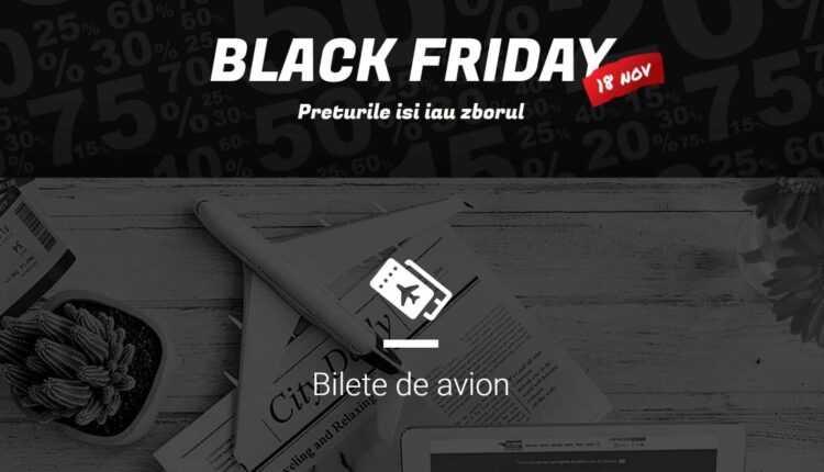 Black Friday Turism 2016: Vola – Bilete de avion de la 1 EURO