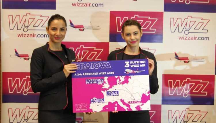 A doua aeronavă Wizz Air la Craiova și 3 rute noi