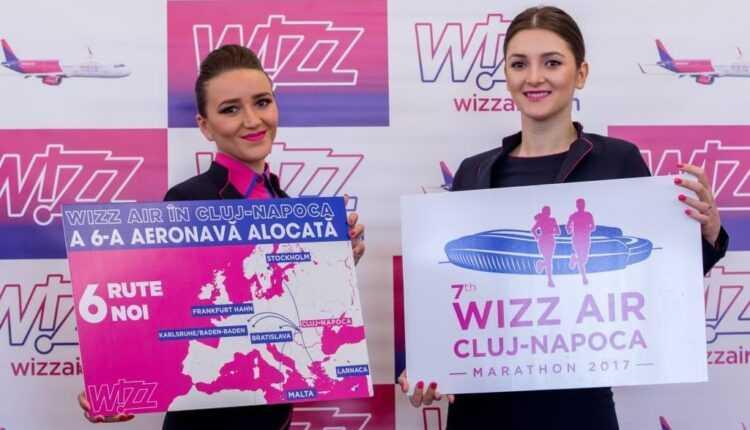 Wizz Air alocă a 6-a aeronavă la Cluj și anunță 7 rute noi