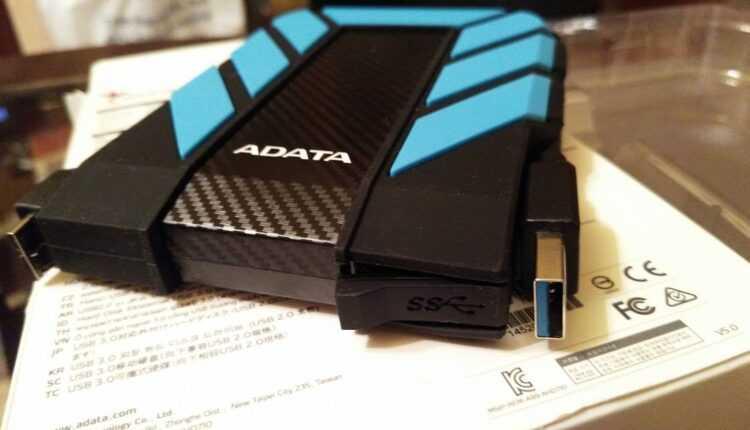 ADATA HD710 – hard disk extern călător