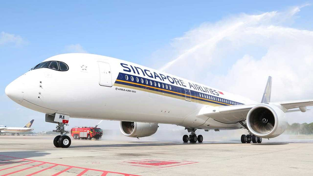 Airbus A350-900-Singapore-Airlines