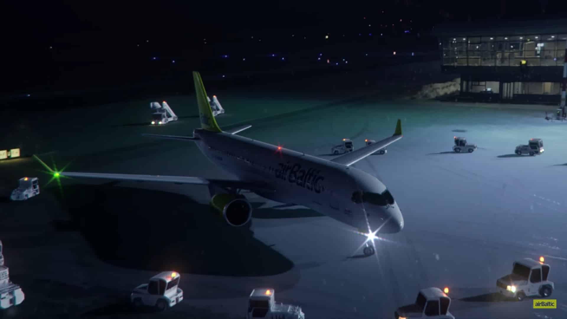 Bombardier-CS300-airBaltic-balet
