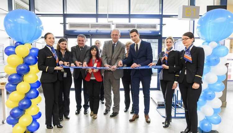 Inaugurarea rutei Cluj – Birmingham cu Blue Air