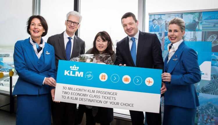 Moment istoric pentru KLM: peste 30 de milioane de pasageri transportați