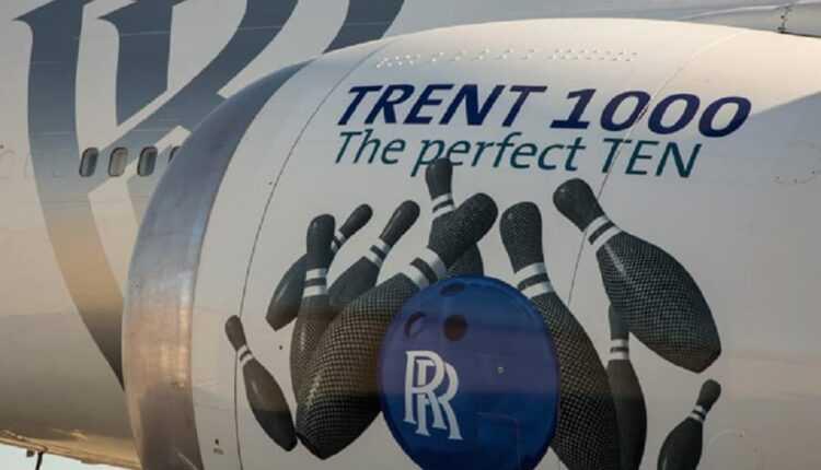 Primul zbor pentru motoarele Rolls-Royce Trent 1000 TEN