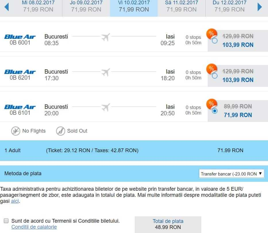 Blue Air Offer 20 Discount On Air Tickets And 12 Years Of Flights