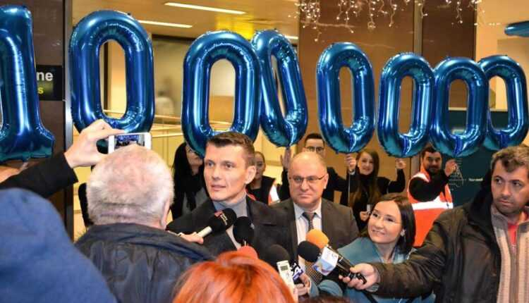10 milioane de pasageri, prin Aeroportul Internațional Henri Coandă