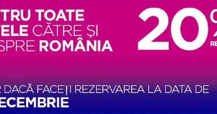 [Oferta Wizz Air] 20% reducere la toate biletele de avion
