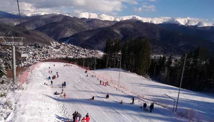 Vacanța de 1 decembrie, petrecută la Bușteni (FOTO)