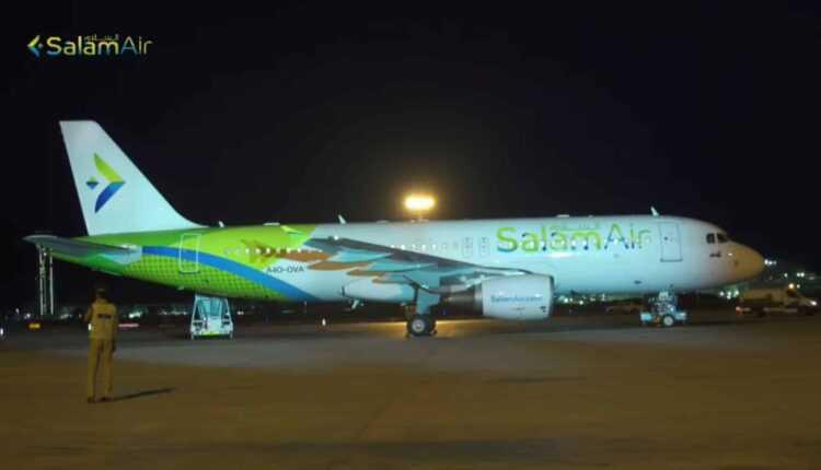 SalamAir a operat primul zbor comercial între Muscat și Salalah