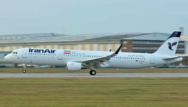 Primul Airbus A321-200 Iran Air (EP-IFA) (VIDEO)