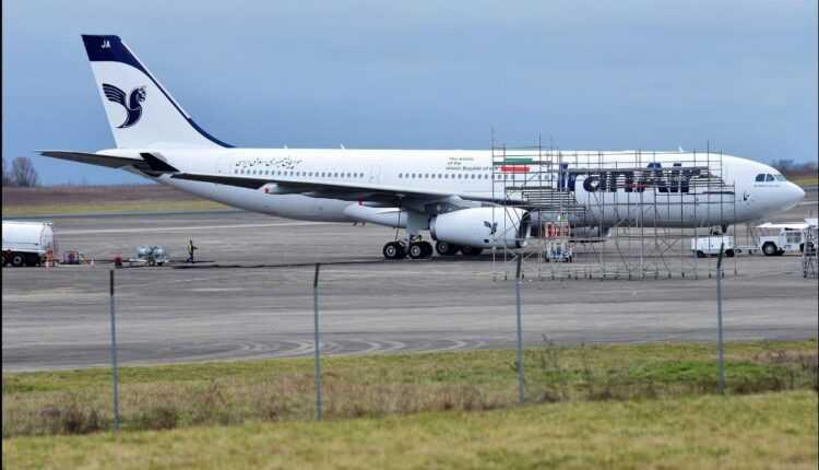 Primul Airbus A330-200 Iran Air a fost vopsit și pregătit de livrare