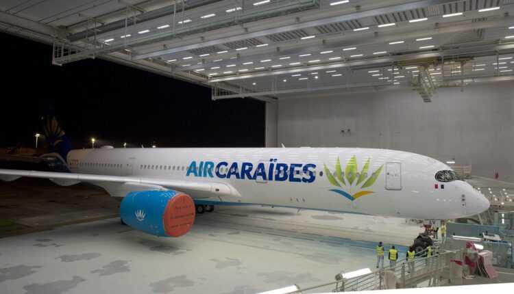 Primul Airbus A350-900 Air Caraïbes se pregătește de zbor