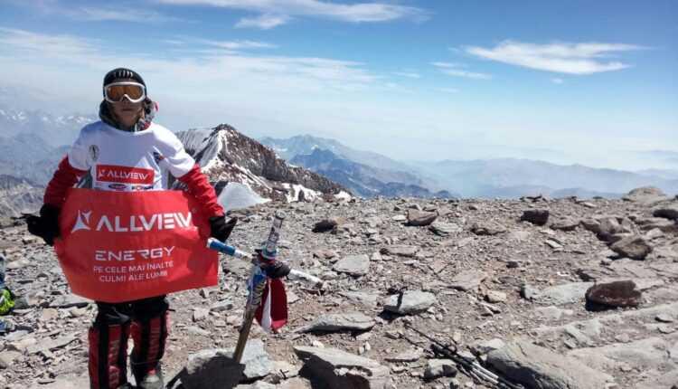 Erik Gulacsi a cucerit vârful Aconcagua (6962m)