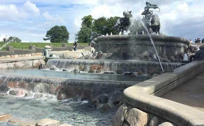 Gefion Fountain,