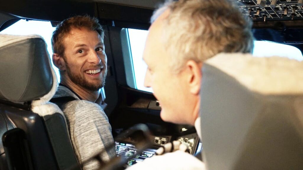 Jenson-Button-British Airways-