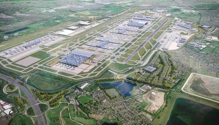 Aeroportul Londra Heathrow în 2016: aproximativ 76 de milioane de pasageri