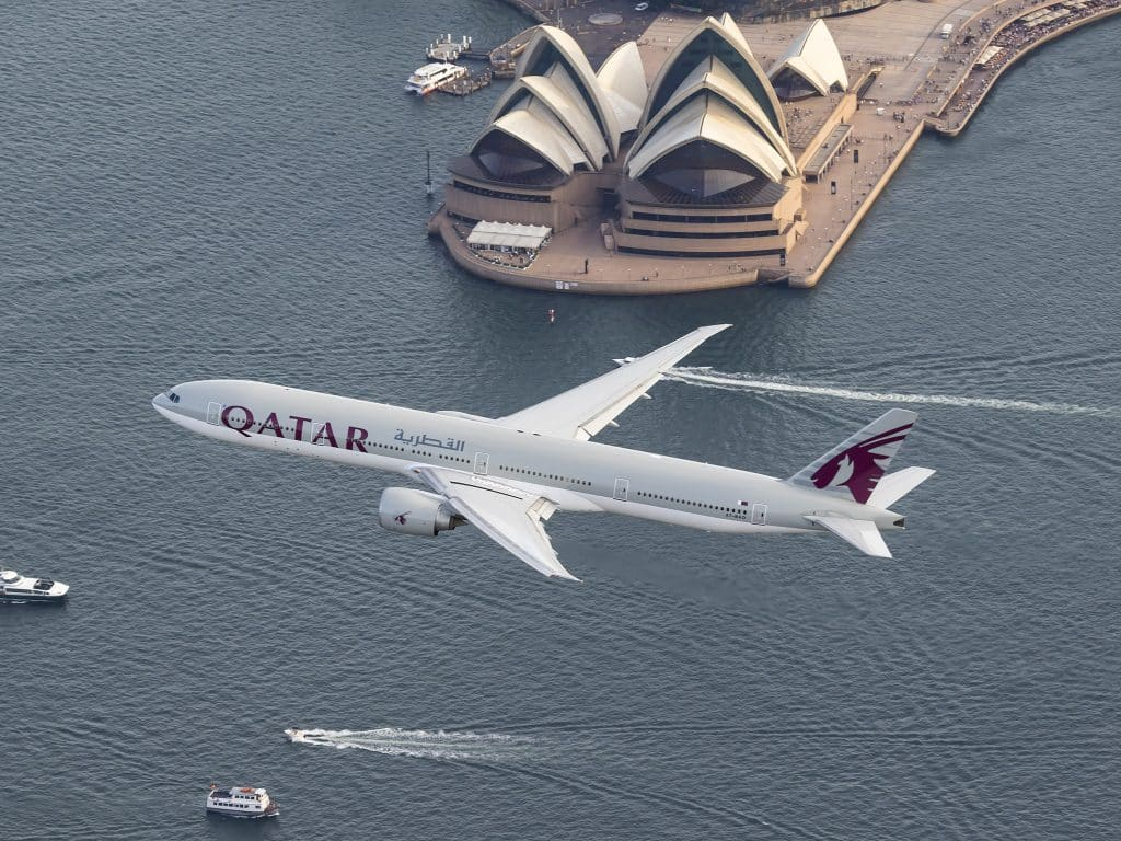 doha-sydney-qatar-airways