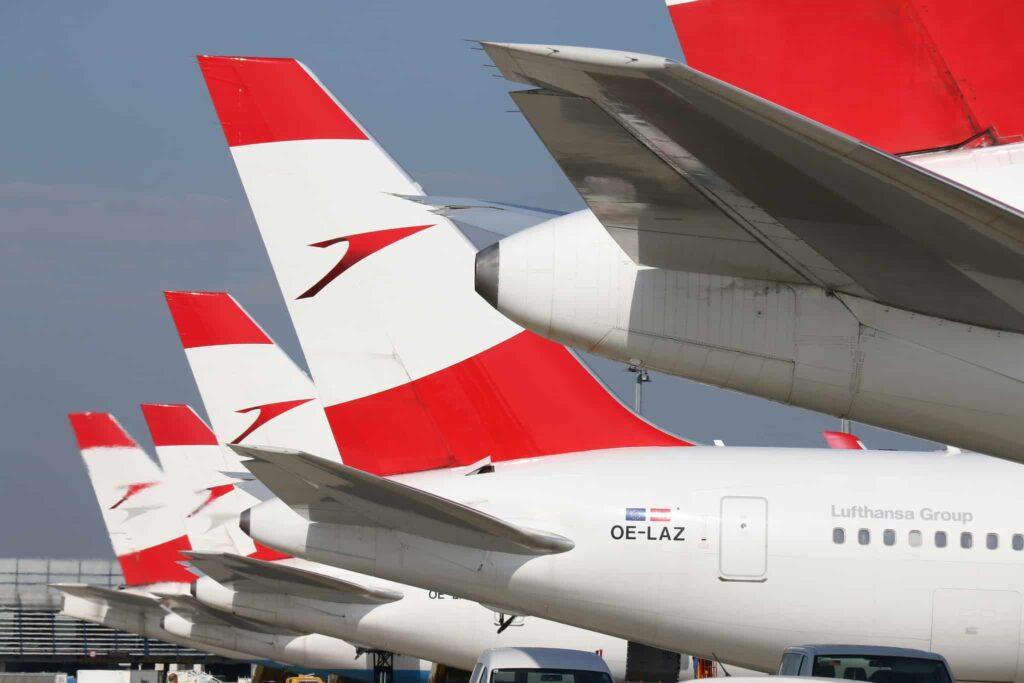 Flotte-Austrian-Airlines