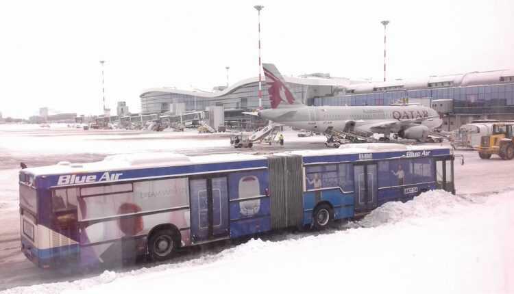 Trafic aerian normal la Aeroportul Internațional Henri Coandă – București