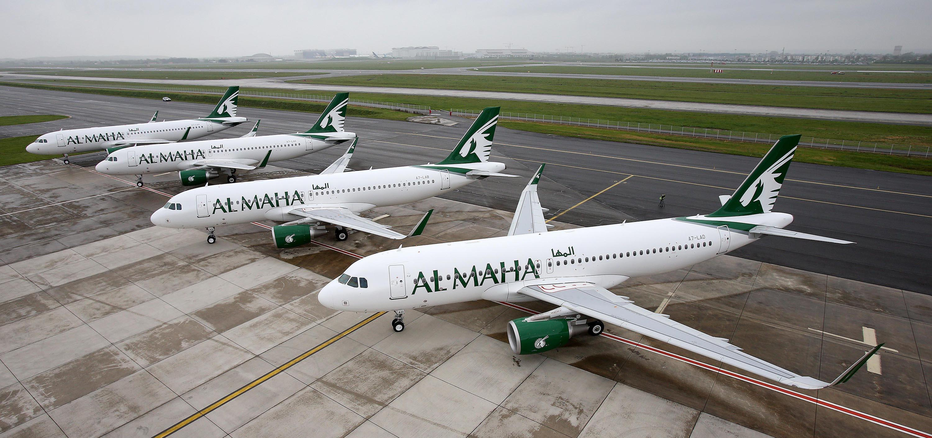 4-A320-Al-Maha-Airways