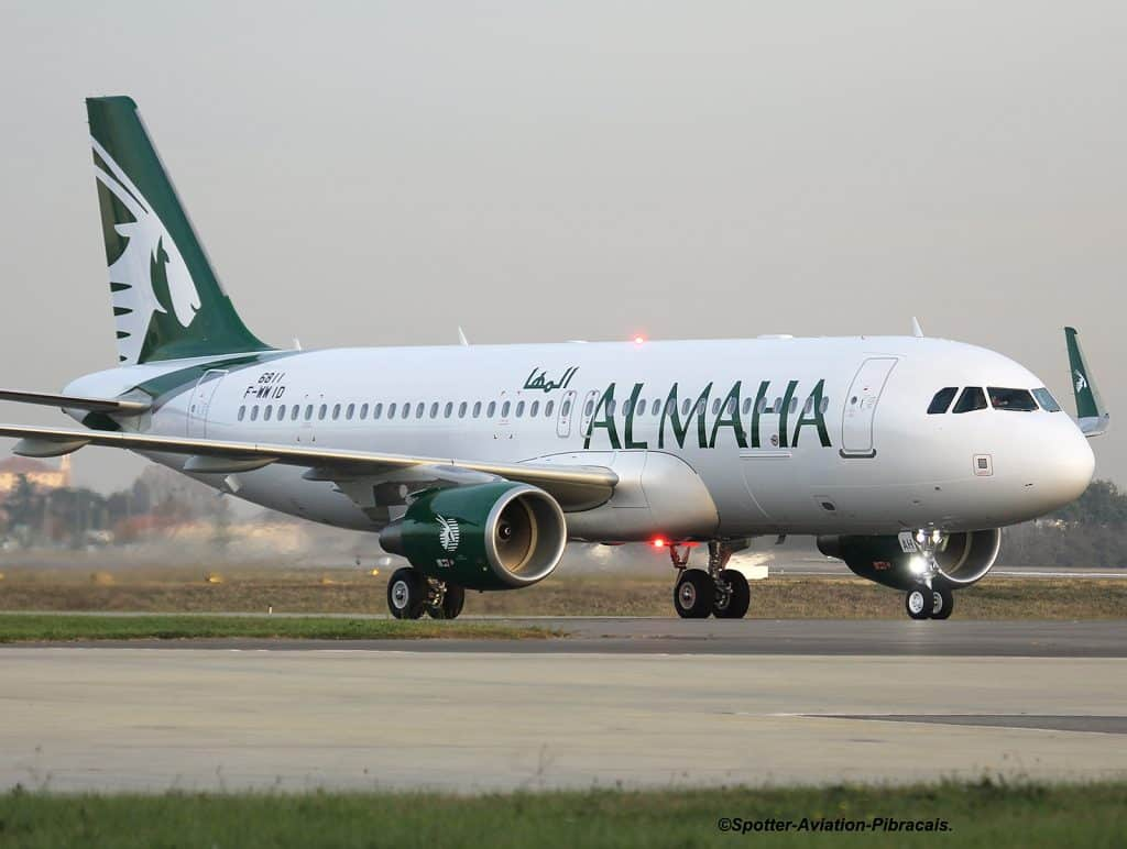 Airbus-A320-Al-Maha-Airways